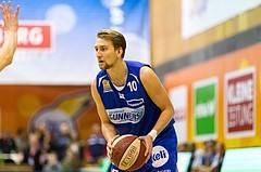 Basketball, ABL 2017/18, Grunddurchgang 7.Runde, Kapfenberg Bulls, Oberwart Gunners, Georg Wolf (10)