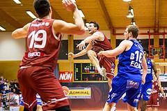 Basketball, ABL 2017/18, Grunddurchgang 14.Runde, Traiskirchen Lions, Oberwart Gunners, Florian Trmal (12)