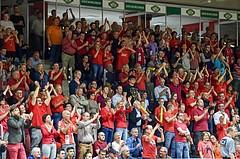 Basketball ABL 2015/16 Playoff Halbfinale Spiel 2 WBC Wels vs Traiskirchen Lions