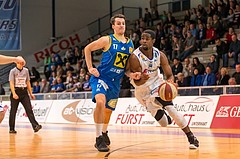 Basketball, ABL 2016/17, CUP VF, Oberwart Gunners, UBSC Graz, Christopher McNealy (8), Fabian Richter (17)