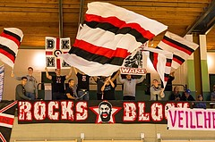 Basketball, 2.Bundesliga, Grunddurchgang 2.Runde, Mattersburg Rocks, Vienna DC Timberwolves, Rocks Block