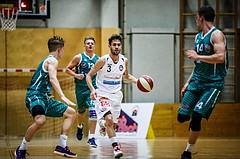 Basketball, 2.Bundesliga, Grunddurchgang 2.Runde, Mattersburg Rocks, KOS Celovec, Jan NICOLI (3)
