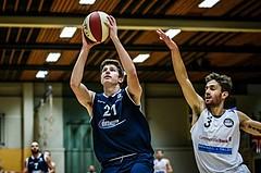 Basketball, 2.Bundesliga, Grunddurchgang 3.Runde, Mattersburg Rocks, BBC Nord Dragonz, Lukas Knor (21)