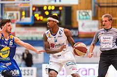 Basketball, ABL 2016/17, Grunddurchgang 15.Runde, Oberwart Gunners, Gmunden Swans, Derek Jackson Jr. (6), Daniel Friedrich (6)