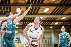 Basketball, 2.Bundesliga, Grunddurchgang 2.Runde, Mattersburg Rocks, KOS Celovec, Corey HALETT (16)