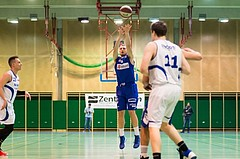 Basketball, ABL 2016/17, CUP 2.Runde, Blue Devils Wr. Neustadt, Oberwart Gunners, Renato Poljak (16)