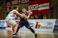 Basketball, 2.Bundesliga, Grunddurchgang 3.Runde, Mattersburg Rocks, BBC Nord Dragonz, Djordje Mirnic (24)