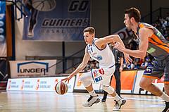 Basketball, Admiral Basketball Superliga 2019/20, Grunddurchgang 16.Runde, Oberwart Gunners, Klosterneuburg Dukes, Edi Patekar (9)
