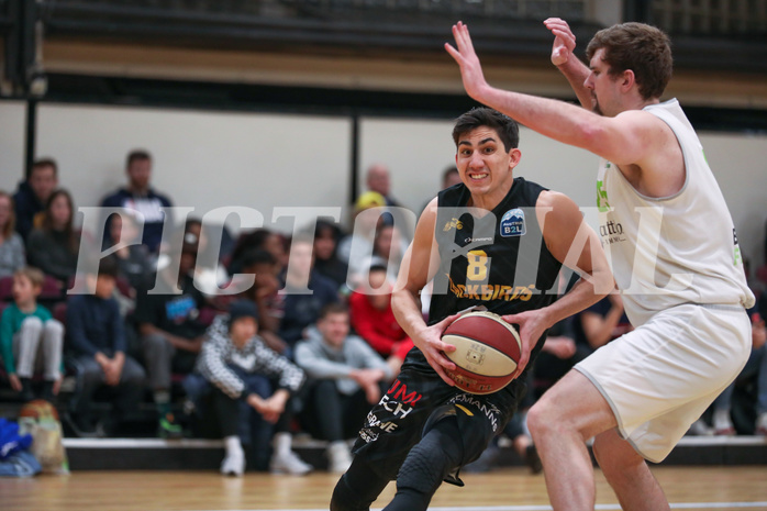 Basketball 2.Bundesliga 2019/20, Grunddurchgang 21.Runde Basket Flames vs. Jennersdorf Blackbirds