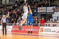 Basketball, ABL 2016/17, CUP VF, Oberwart Gunners, UBSC Graz, Fabian Richter (17)