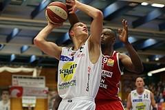 Basketball ABL 2016/17 Grunddurchgang 4.Runde Gmunden Swans vs. BC Vienna
