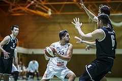 Basketball, Basketball Zweite Liga, Grunddurchgang 1.Runde, COLDA MARIS BBC Nord Dragonz, Swarco Raiders Tirol, Luka Gvozden (10)