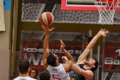 Basketball ABL 2017/18 Grunddurchgang 33. Runde Flyers Wels vs Traiskirchen Lions