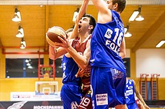 Basketball, ABL 2017/18, Grunddurchgang 14.Runde, Traiskirchen Lions, Oberwart Gunners, Jozo Brkic (19)
