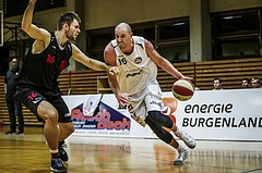 Basketball, 2.Bundesliga, Grunddurchgang 5.Runde, Mattersburg Rocks, Mistelbach Mustangs, Corey HALETT (16)