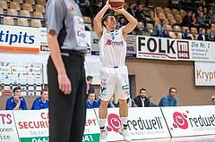 Basketball, ABL 2016/17, CUP VF, Oberwart Gunners, UBSC Graz, Jakob Szkutta (4)