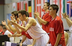 Basketball FIBA U18 European Championship Men 2015 DIV B Team Austria vs. Team Denmark