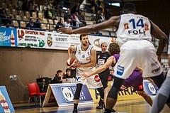 Basketball, ABL 2018/19, Grunddurchgang 33.Runde, Oberwart Gunners, Vienna DC Timberwolves, Andrius Mikutis (5)