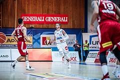 Basketball, ABL 2018/19, Grunddurchgang 1.Runde, Oberwart Gunners, BC Vienna, Hayden Lescault (11)