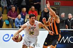 Basketball ABL 2016/17 Grunddurchgang 31. Runde WBC Wels vs Dukes Klosterneuburg