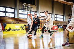 Basketball, Basketball Zweite Liga, Playoff: Viertelfinale 3. Spiel, Mattersburg Rocks, BBC Nord Dragonz, Petar Zivkovic (8)