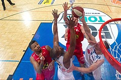 Basketball ABL 2015/16 Playoff Finale Spiel 2 Oberwart Gunners vs. WBC Wels