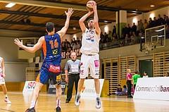 Basketball, ABL 2016/17, CUP 2.Runde, Mattersburg Rocks, Fürstenfeld Panthers, Wolfgang TRAEGER (8)