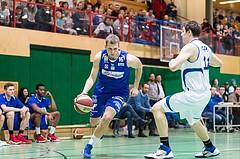 Basketball, ABL 2016/17, CUP 2.Runde, Blue Devils Wr. Neustadt, Oberwart Gunners, Renato Poljak (16) David Kern (11)