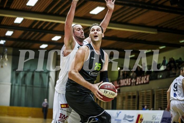 Basketball, 2.Bundesliga, Grunddurchgang 9.Runde, Mattersburg Rocks, Basket Flames, Fuad Memcic (25)