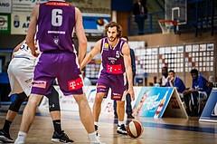 Basketball, ABL 2018/19, Grunddurchgang 33.Runde, Oberwart Gunners, Timberwolves, Joseph Scott (5)