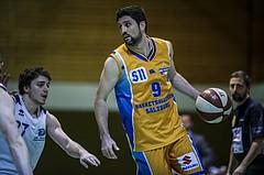 Basketball, 2.Bundesliga, Grunddurchgang 5.Runde, Mattersburg Rocks, Mistelbach Mustangs, Luka Milovac (9)