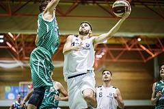 Basketball, 2.Bundesliga, Grunddurchgang 4.Runde, Mattersburg Rocks, BBU Salzburg, Gabriel Semmel (13)