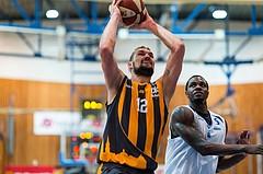 Basketball, ABL 2016/17, Grunddurchgang 2.Runde, Oberwart Gunners, Klosterneuburg Dukes, Christoph Greimeister (12), Cedric Kuakumensah (5)