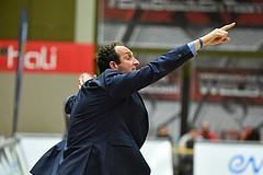 Basketball ABL 2016/17 Halbfinale Spiel 3 WBC Wels vs Gunners Oberwart