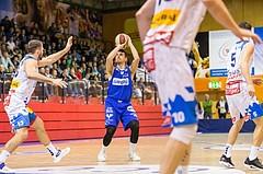 Basketball, ABL 2017/18, Grunddurchgang 7.Runde, Kapfenberg Bulls, Oberwart Gunners, Benjamin Blazevic (12)