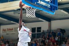 Basketball, ABL 2016/17, Grunddurchgang 2.Runde, Oberwart Gunners, Klosterneuburg Dukes, Cedric Kuakumensah (5)