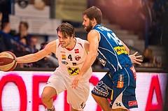 Basketball, CUP 2017 , 1/2 Finale, WBC Wels, Kapfenberg Bulls, Thomas Csebits (4)