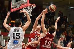 Basketball ABL 2015/16 Grunddurchgang 21.Runde WBC Wels vs BC Vienna