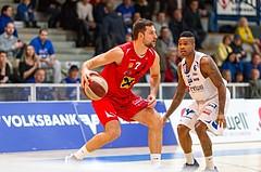 Basketball ABL 2015/16 Grunddurchgang 15.Runde Oberwart Gunners vs. WBC Wels