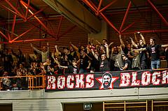 Basketball, Basketball Zweite Liga, Playoff: Viertelfinale 2. Spiel, BBC Nord Dragonz, BK Mattersburg Rocks, Rocks Block
