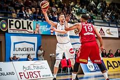 Basketball, ABL 2018/19, Grunddurchgang 1.Runde, Oberwart Gunners, BC Vienna, Andrius Mikutis (5)