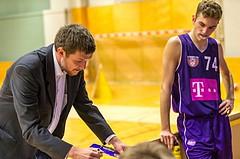 Basketball, 2.Bundesliga, Grunddurchgang 2.Runde, Mattersburg Rocks, Vienna DC Timberwolves, Hubert Schmidt (Headcoach)