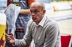 Basketball, ABL 2018/19, Grunddurchgang 5.Runde, Oberwart Gunners, Fürstenfeld Panthers, Adnan Bajramovic  (Head Coach)