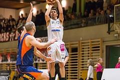 Basketball, ABL 2016/17, CUP 2.Runde, Mattersburg Rocks, Fürstenfeld Panthers, Stefan ULREICH (11)