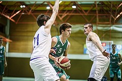 Basketball, 2.Bundesliga, Grunddurchgang 4.Runde, Mattersburg Rocks, BBU Salzburg, Andi Smrtnik (5)