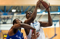 Basketball, CUP 2017 , 1/2 Finale, Oberwart Gunners, Gmunden Swans, Christopher McNealy (8)