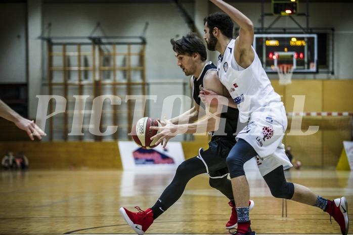Basketball, 2.Bundesliga, Grunddurchgang 9.Runde, Mattersburg Rocks, Basket Flames, Michael Diesner (4)