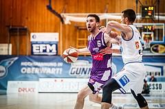 Basketball, ABL 2018/19, Grunddurchgang 33.Runde, Oberwart Gunners, Timberwolves, Nemanja Nikolic (6)