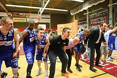 Basketball ABL 2015/16 Playoff Finale Spiel 3 WBC Wels vs. Oberwart Gunners