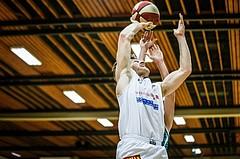 Basketball, 2.Bundesliga, Grunddurchgang 2.Runde, Mattersburg Rocks, KOS Celovec, Maximilian HÜBNER (8)